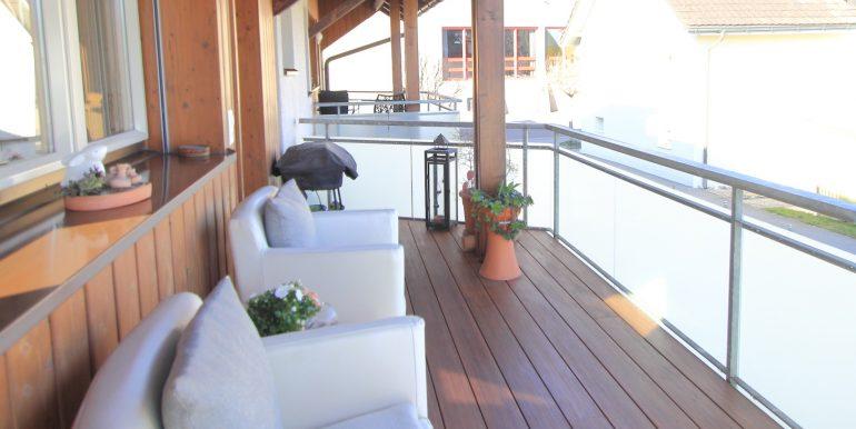 Balkon neu Ruggell EFH