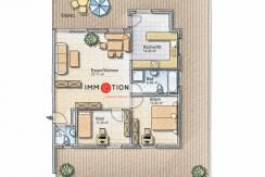 3,5 Zimmerwohnung mit 120m2 Terrasse | gepflegte Liegenschaft | Eschen