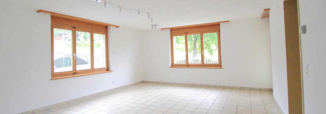 Preiswerte 4,5 Zimmer Parterrewohnung | Mauren