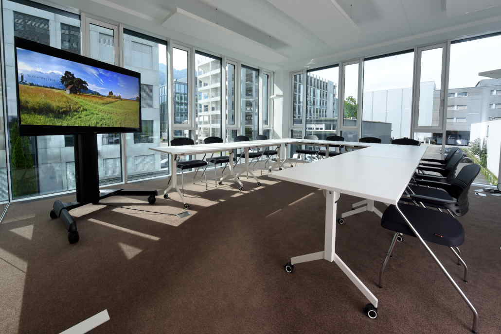 Smarte Büros | gute Infrastruktur, optionale Dienstleistungen & variable Raumgrössen | Ruggell