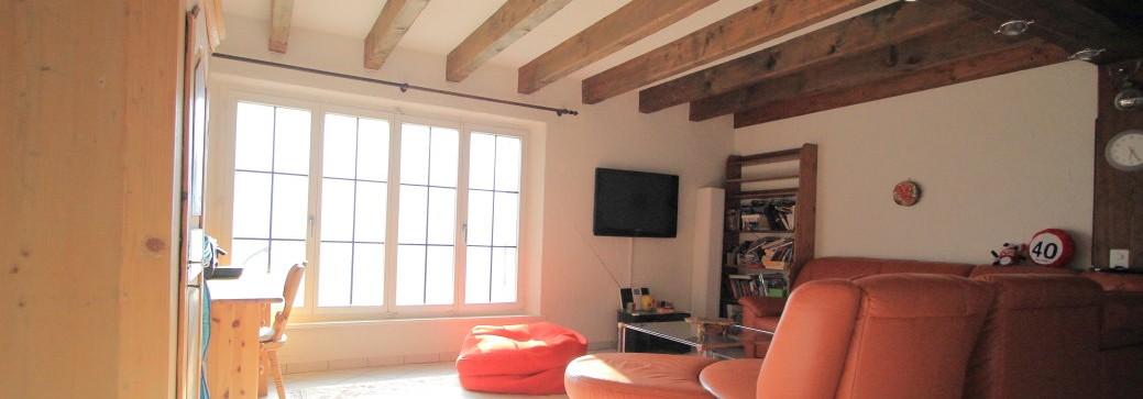 3,5 Zimmerwohnung im Chalet-Stil   Zentrumsnahe Lage Mit Weitblick   Triesenberg