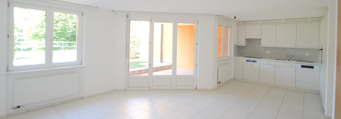 Gemütliche 3.5 Zimmer Parterrewohnung | ruhige Lage | Schellenberg