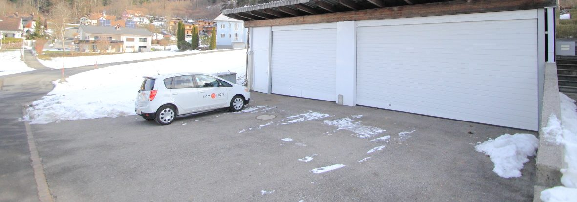 Attraktive Garage (65m2) mit grosszügiger Aussenfläche | Nendeln