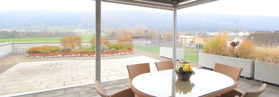 Wunderschöne 3,5 Zimmer Attika Wohlfühloase | Panoramaterrasse & top Ausstattung | Mauren